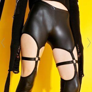 Current Mood Asylum Harness Legging Dolls Kill